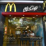 Exterior View Of A Mcdonalds Restaurant In Hong Kong Stock Photo Download Image Now Istock