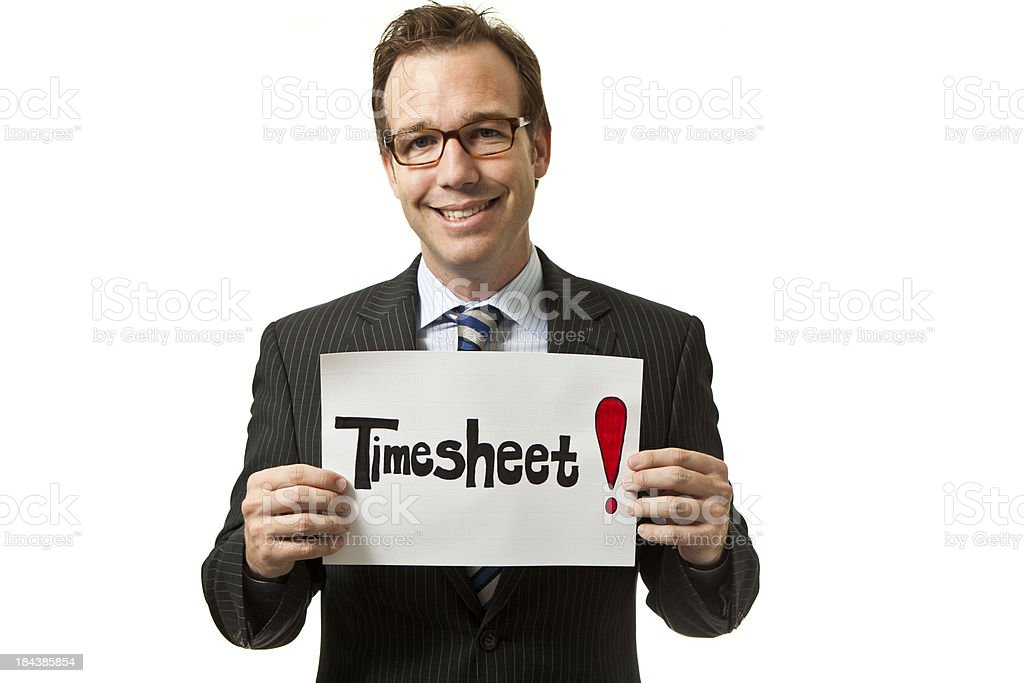 Friendly Reminder To Do Your Timesheet Stock Photo   More Pictures     Friendly Reminder to do your timesheet royalty free stock photo