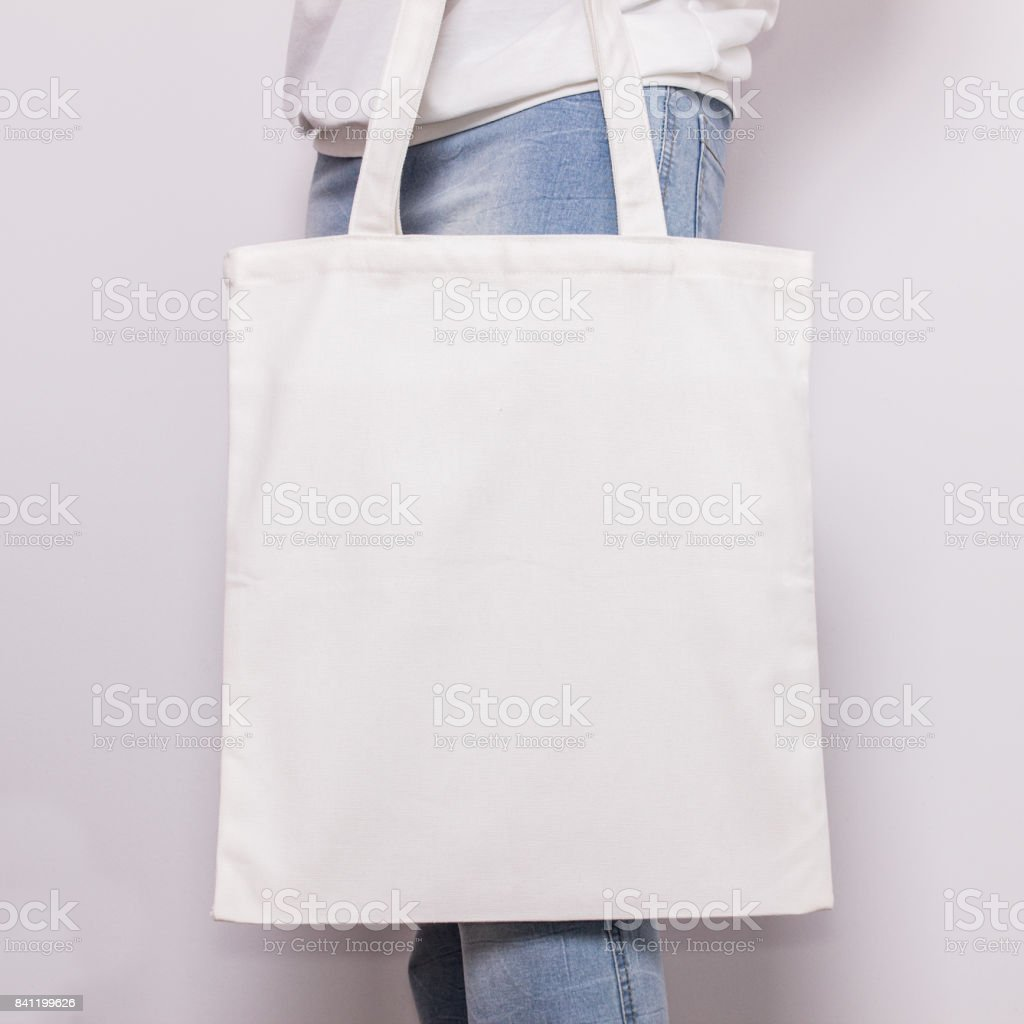 It works great for photographs but you can also use it for any kind of image like graphics, logos, etc a close up of a toy. Girl In Blue Jeans Holds Blank Cotton Eco Tote Bag Design Mockup Handmade Shopping Bag For Girls Stock Photo Download Image Now Istock