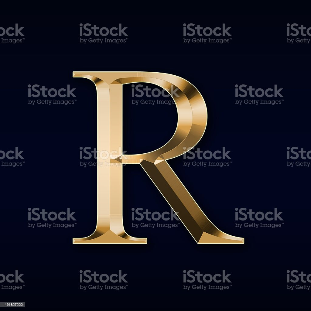 Royalty Free Letter R Pictures  Images and Stock Photos   iStock Gold letter  R  on a red background stock photo