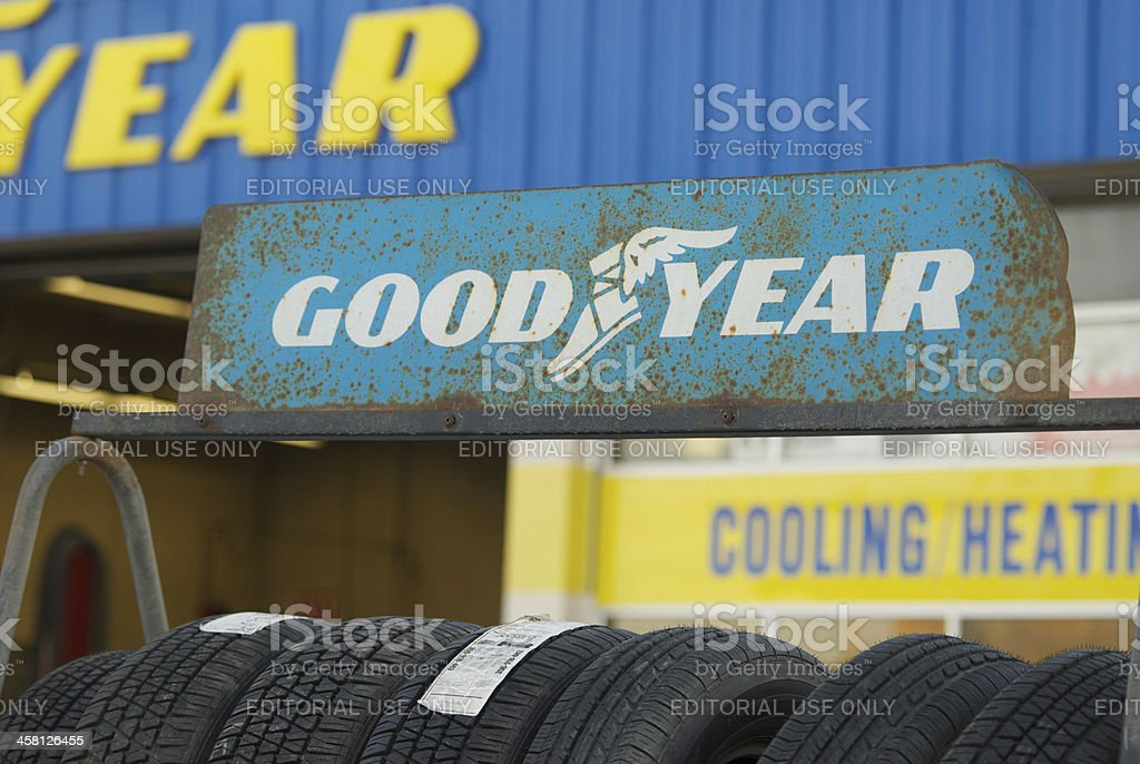 goodyear tire rack stock photo download image now istock