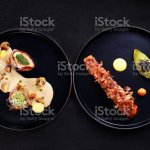 Grill And Steak Restaurant Menu Meat And Seafood Stock Photo Download Image Now Istock