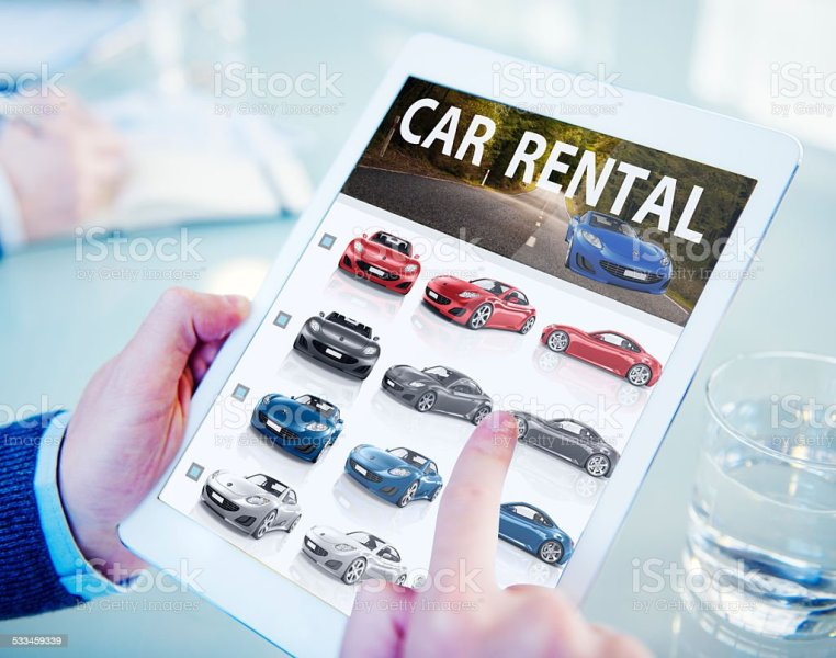 Royalty Free Car Rental Pictures  Images and Stock Photos   iStock Hands Holding Digital Tablet Car Rental stock photo