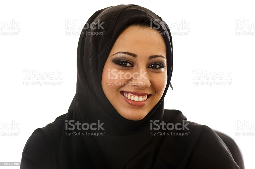 A muslim woman has the right to. Happy Arabic Girl Stock Photo Download Image Now Istock