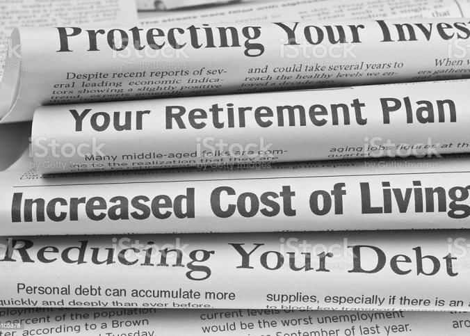 Headlines About Personal Finance Issues Stock Photo Download Image Now Istock