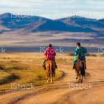 Horse Rider In Mongolia Stock Photo Download Image Now Istock