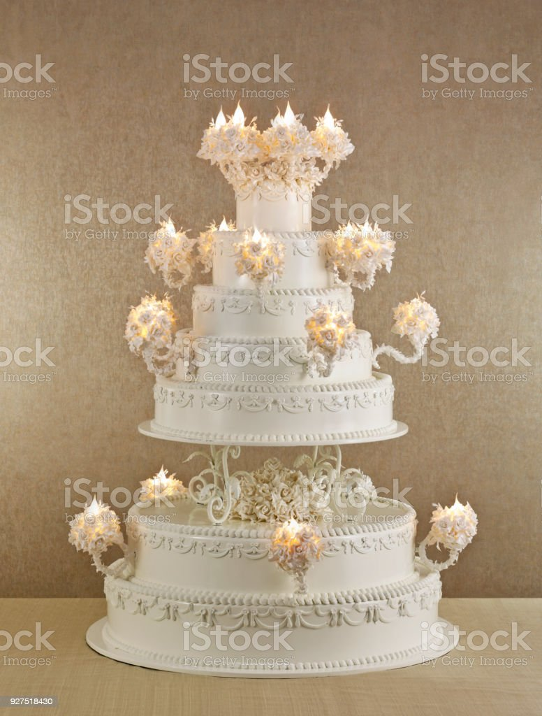 Huge Wedding Cake Stock Photo   More Pictures of Baked   iStock huge wedding cake royalty free stock photo