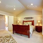 Light Bedroom With Vaulted Ceiling Stock Photo Download Image Now Istock