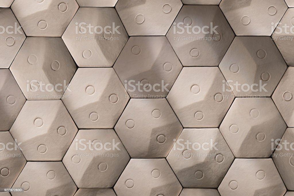 https www istockphoto com fr photo carrelage beige clair en c c3 a9ramique en nid dabeille gm922972830 253369397