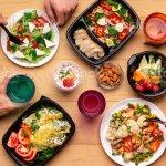 Mittagessen Spiralig In Modernen Buros Ansicht Von Oben Stockfoto Und Mehr Bilder Von Abnehmen Istock
