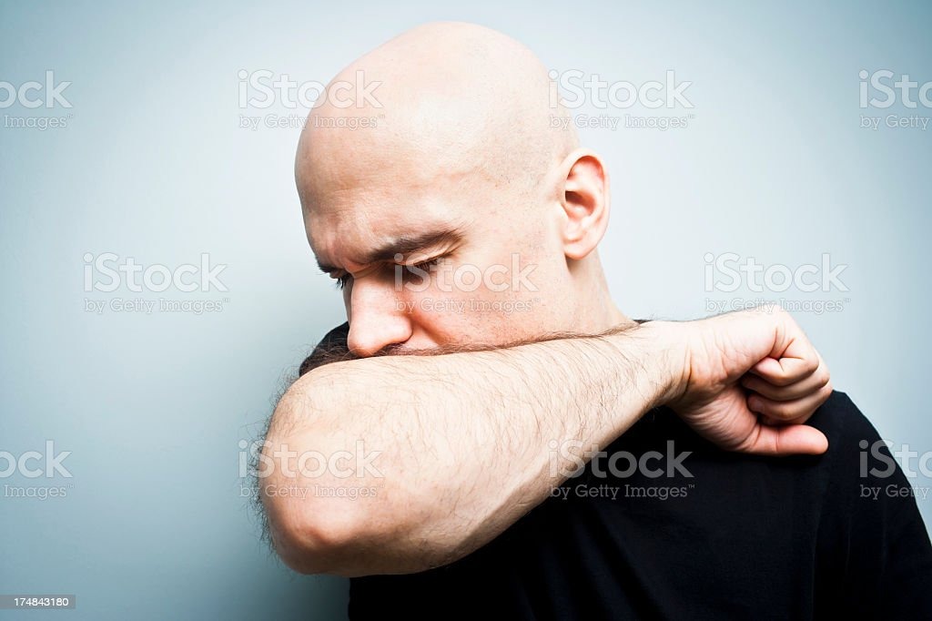 Sneezing Into Arm Stock Photos, Pictures & Royalty-Free ...