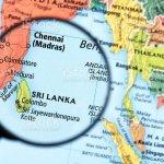 Map Of Sri Lanka Stock Photo Download Image Now Istock