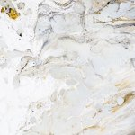 Marble Background Texture With Gold Black Grey And White Colors Using Acrylic Pouring Medium Art Technique Useful As A Backdrop Or Background Or Copy Space Beautiful Abstract Art With Paint Splatter Stock