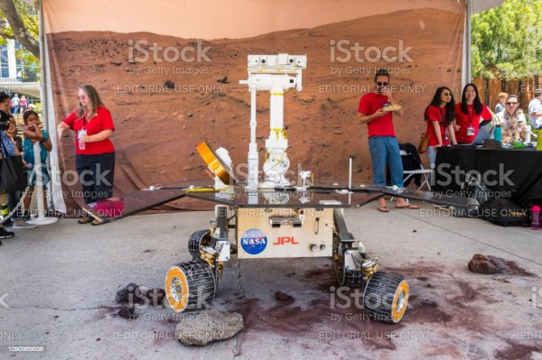 Mars Exploration Rover Close Up Stock Photo More