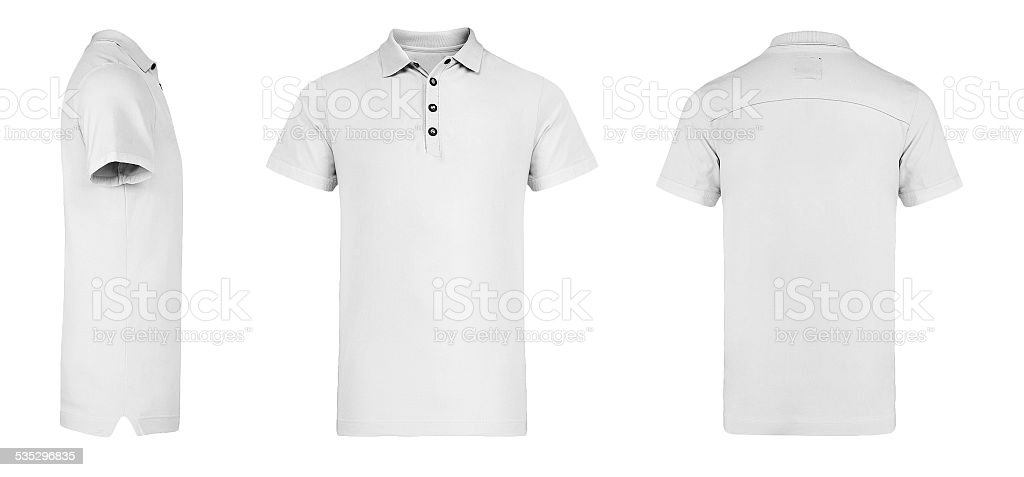 Mens White Polo Shirt Multisides Template Stock Photo Amp More Pictures Of 2015 IStock