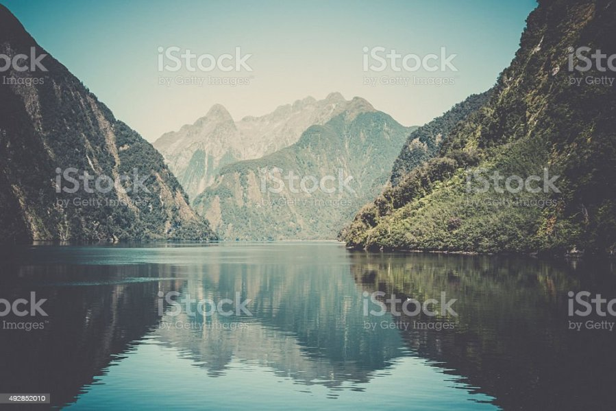 Royalty Free Landscapes Pictures  Images and Stock Photos   iStock Milford Sound Landscape  South Island  New Zealand stock photo