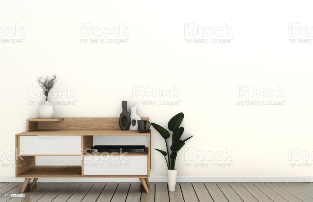 https www istockphoto com fr photo mock up meuble tv dans la salle vide moderne japonais style zen designs minimaux gm1149590662 310882810