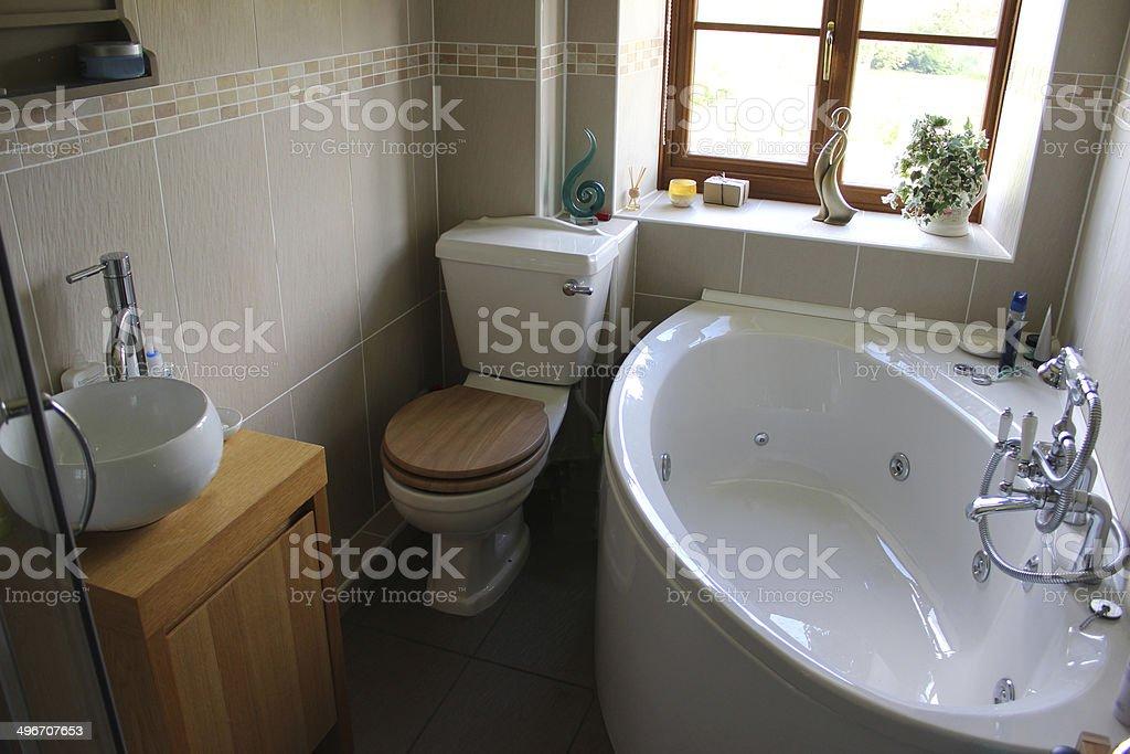 https www istockphoto com fr photo salle de bain moderne de la suite avec ses toilettes son lavabo et baignoire dangle gm496707653 40975368