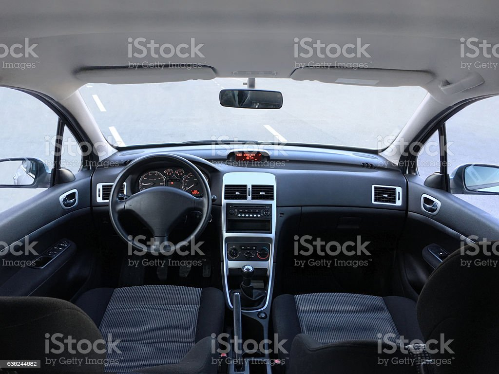 Royalty Free Car Interior Pictures  Images and Stock Photos   iStock Modern car interior stock photo