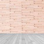 Modern Granite Tile Wall Pattern Textured Background In Light Red Brown Color With Wooden Floor In Grey Stock Photo Download Image Now Istock