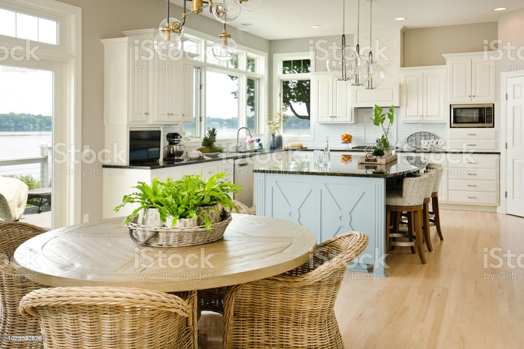Modern Kitchen Design With Open Concept And Bar Counter ... on Modern Kitchen Counter Decor  id=78732
