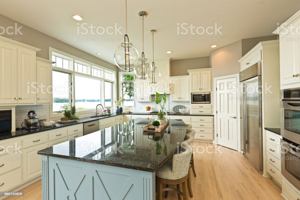 Modern Kitchen Design With Open Concept And Bar Counter ... on Modern:egvna1Wjfco= Kitchen Counter Decor  id=52895