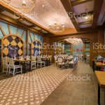 Modern Mexican Restaurant Interior Part Of A Hotel Stock Photo Download Image Now Istock