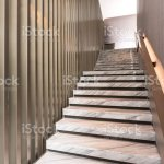 Modern White Marble Stairs For Luxury Interior Stock Photo Download Image Now Istock