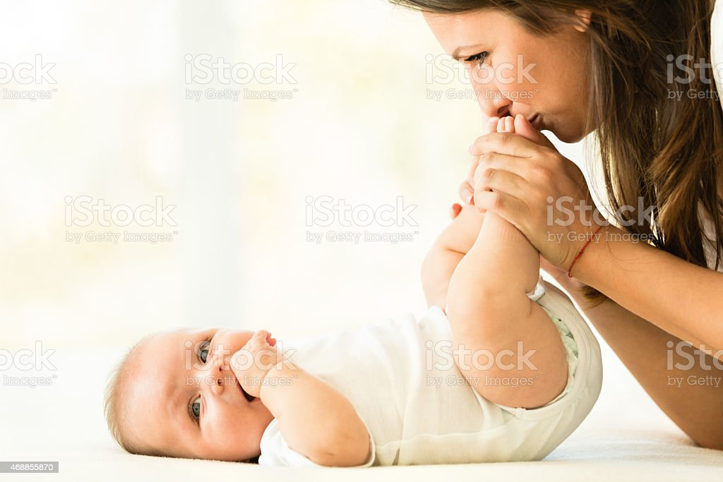Royalty Free Kissing Foot Pictures, Images and Stock ...