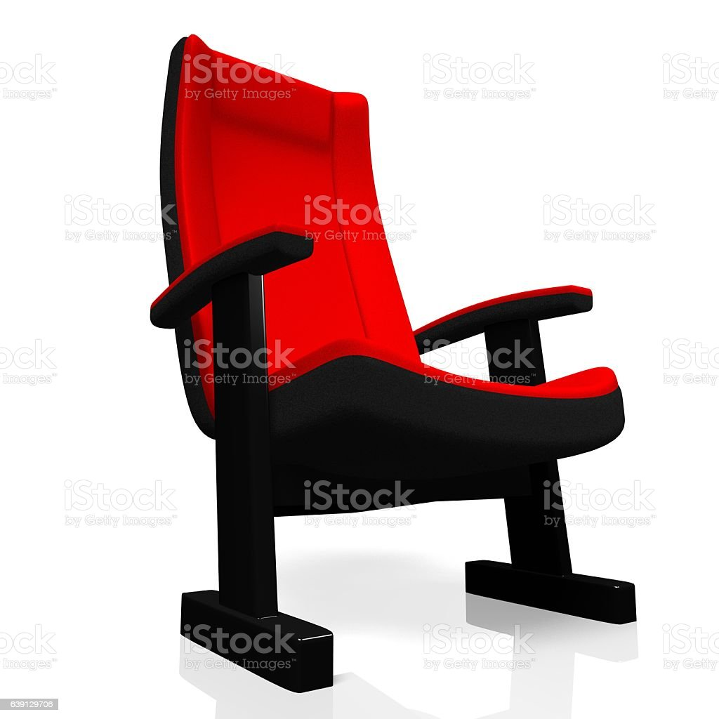 3d Movie Theater Seat Stock Photo Download Image Now Istock