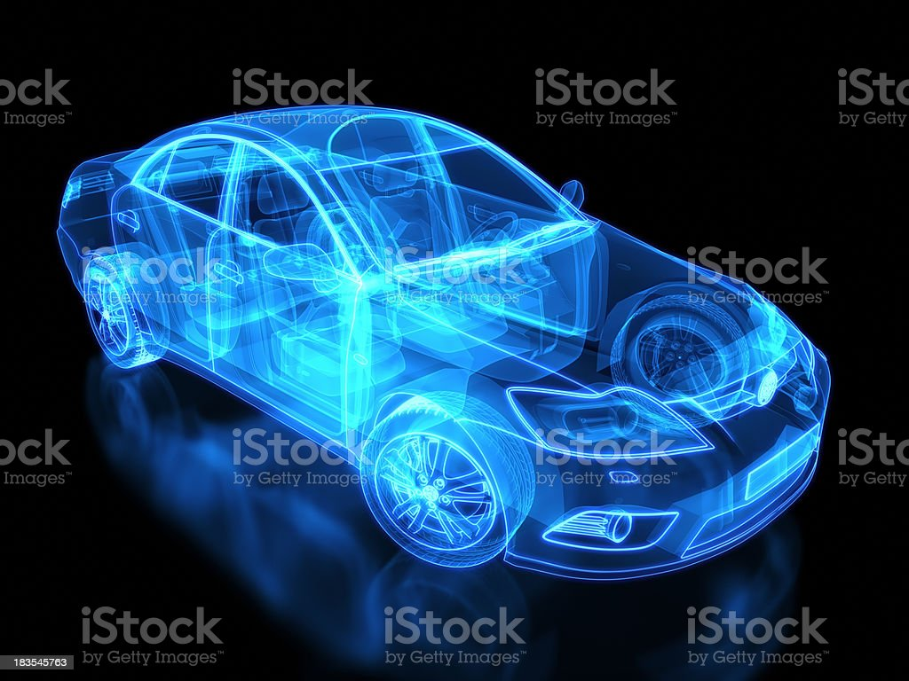 Please understand that our phone lines must be clear for urg. Neon Anatomy Of An Automobile On Black Background Stock Photo Download Image Now Istock