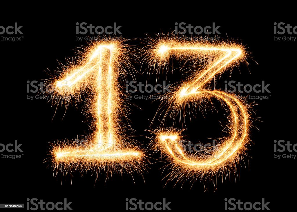 Number 13 Stock Photos, Pictures & Royalty-Free Images ...