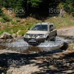 Offroad Modified Honda Crv On Dirt Road In Oregon Wilderness Stock Photo Download Image Now Istock