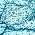 Old Map Of The Iberian Peninsula Stock Photo Download Image Now Istock