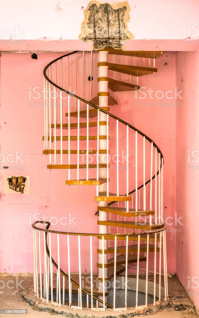 Old Spiral Staircase Stock Photo Download Image Now Istock | Spiral Staircase Wooden Steps | Tiny House | Wrought Iron | Rustic | Creative | 2 Story