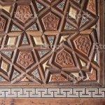 Osmanischen Turkisch Kunst Mit Geometrischen Mustern Auf Holz Stockfoto Und Mehr Bilder Von Design Istock