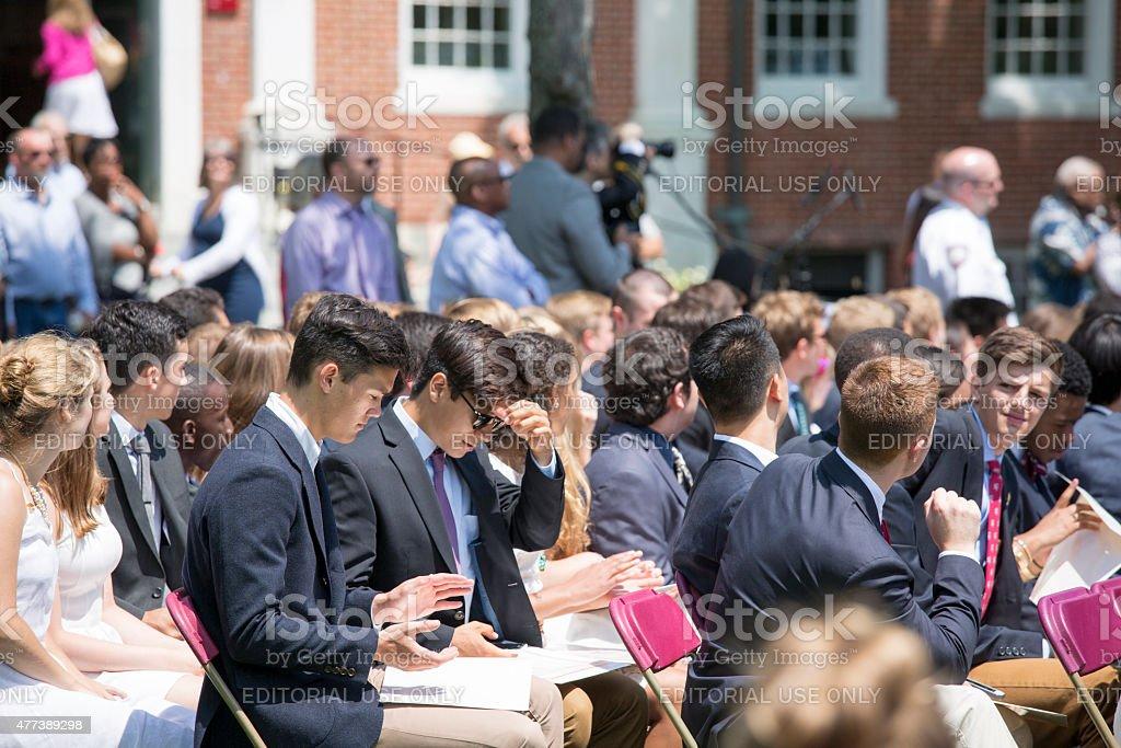 Phillips Exeter Academy Graduation 2015 College Prep ...