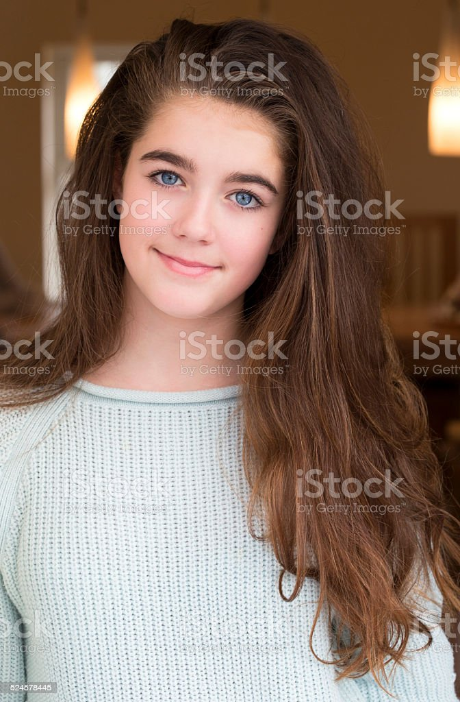 Pretty Teen Girl Stock Photo & More Pictures of 12-13 ... on Small:zikqrscfop8= Teenage Girls  id=75762