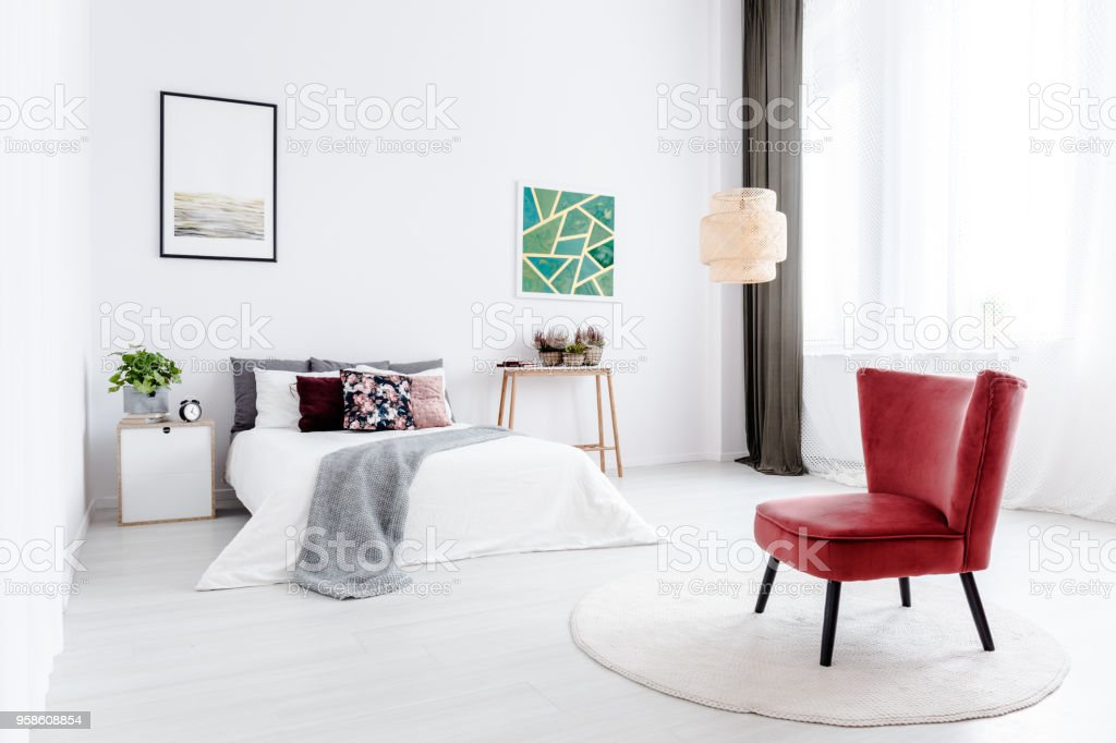 https www istockphoto com photos red black and white bedroom