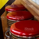 Retro Style Bar Stools Stock Photo Download Image Now Istock