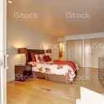 Romantic Master Bedroom Interior With Closet Stock Photo Download Image Now Istock