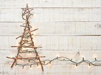 christmas - Rustic Christmas Background