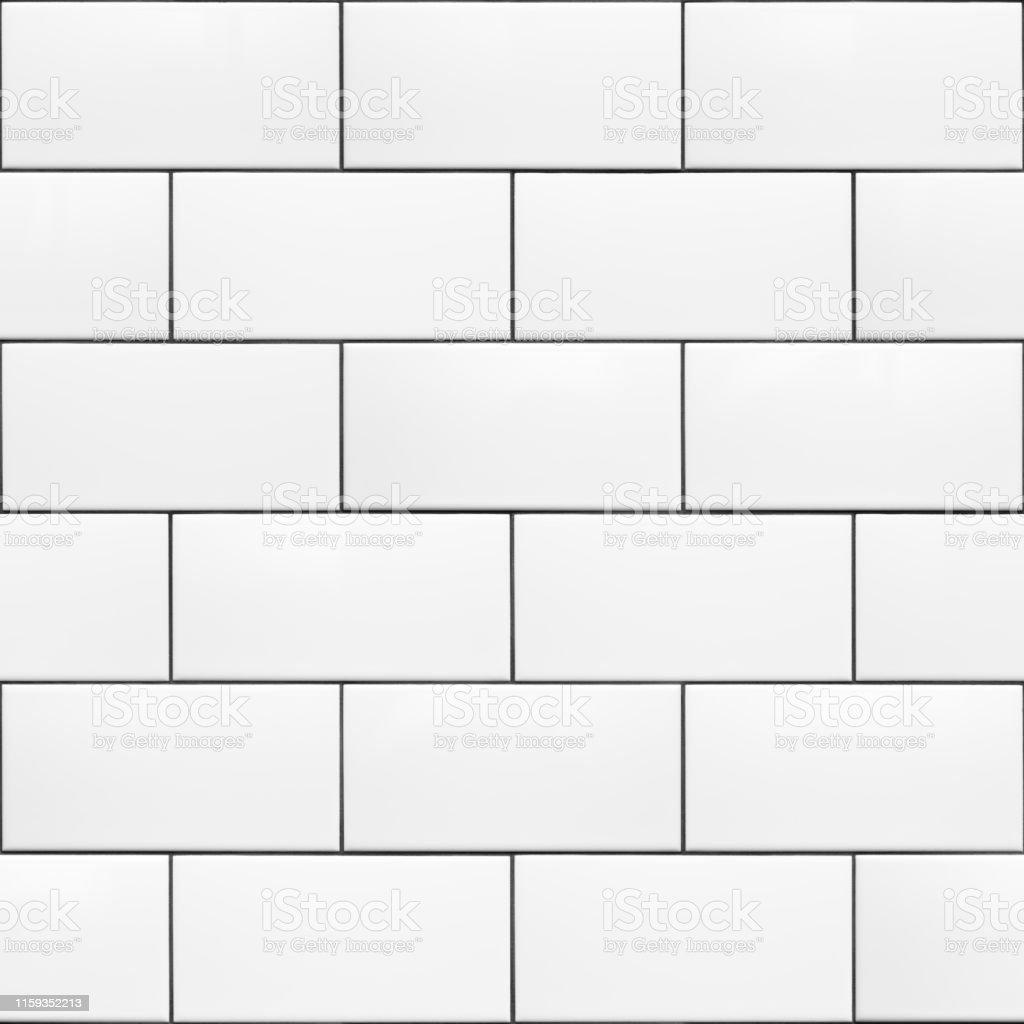 photo libre de droit de seamless pattern blanc 200 x 100 carreaux de metro en ceramique running bond banque d images et plus d images libres de droit de architecte d interieur istock