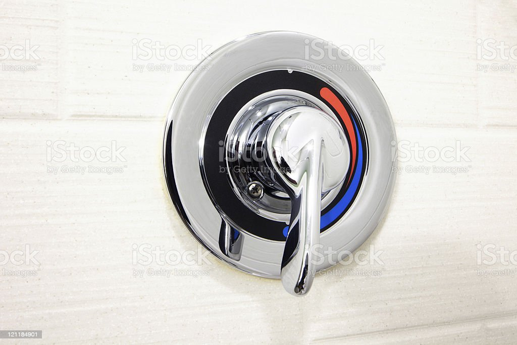 https www istockphoto com photo silver faucet with hot and cold water options gm121184901 16911064