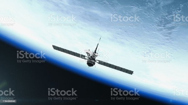Spy Satellite Orbiting Earth Nasa Public Domain Imagery ...