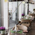 Table Set Up In Restaurant Interiornapkins Selective Focus Foto De Stock Y Mas Banco De Imagenes De A La Moda Istock