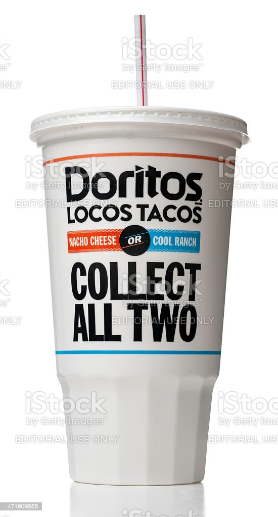 Mini nacho cups heat oven to 350°f. Taco Bell Doritos Locos Tacos Soda Cup Stock Photo Download Image Now Istock
