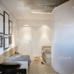 Two Single Beds In Small Room Of Modern Hostel Stock Photo Download Image Now Istock