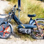 Vintage Peugeot 103 Sp Moped Stock Photo Download Image Now Istock