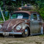 1957 Volkswagen Beetle Rat Rod Stock Photo Download Image Now Istock
